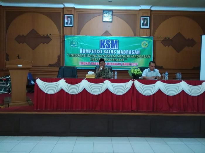 Siswi MAN 2 Merangin ikuti seleksi Kompetensi Sains Madrasah Tingkat Kabupaten